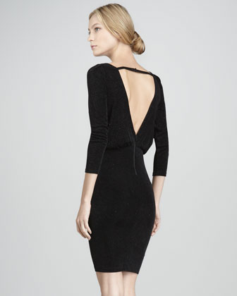 Aerin Fitted Blouson Dress