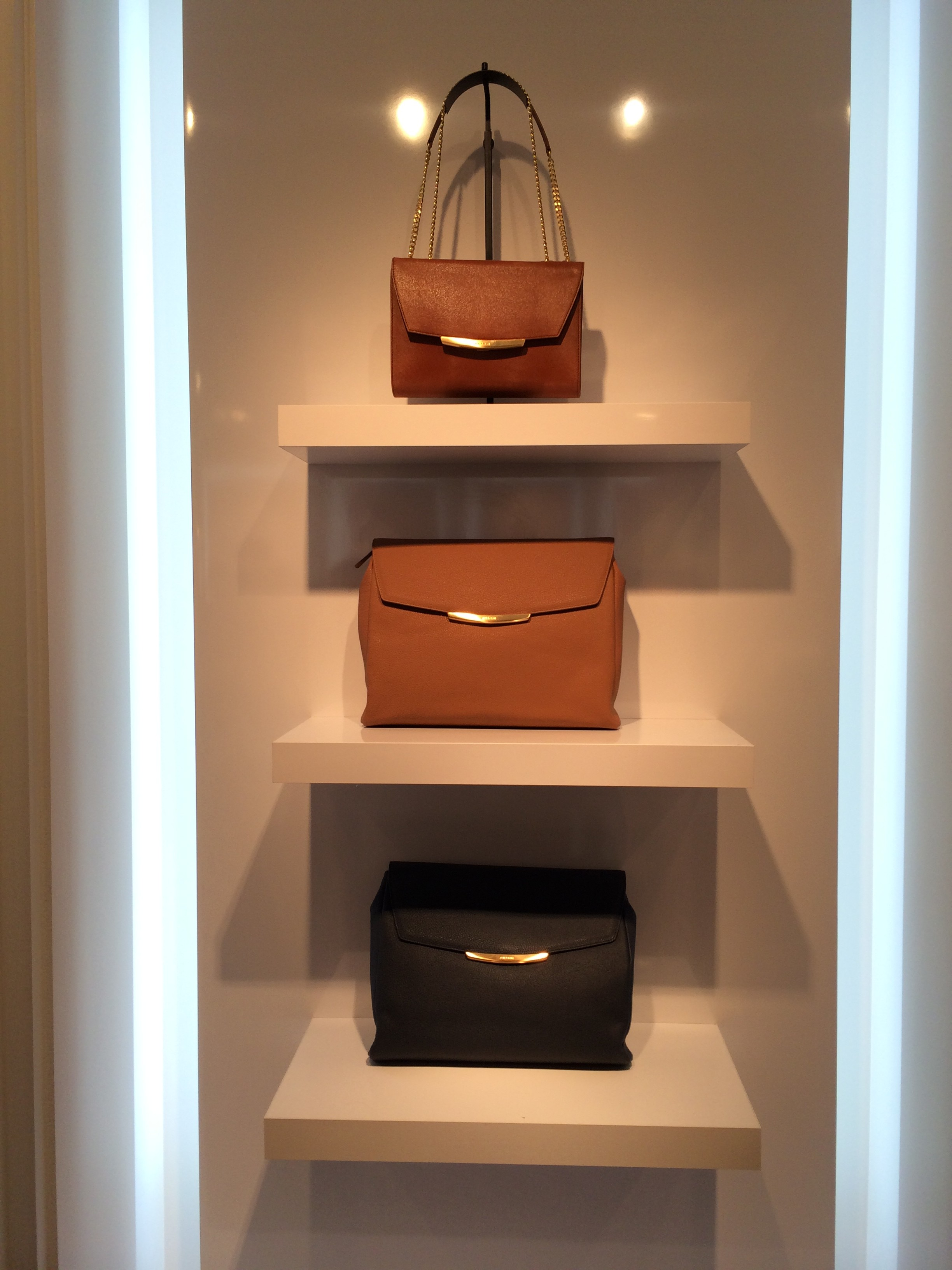 Jinammi LA Store Opening - bag shelf