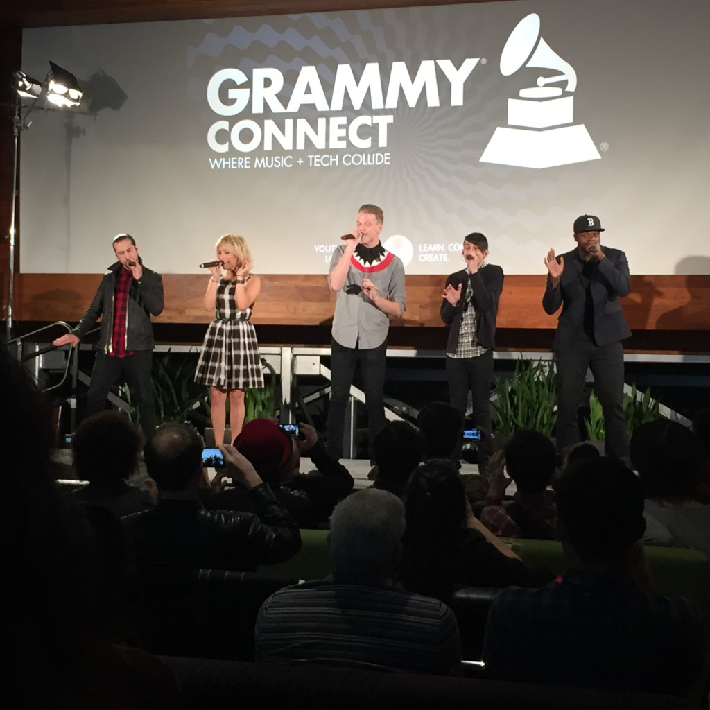 Pentatonix - Grammy Connect at Youtube Space LA