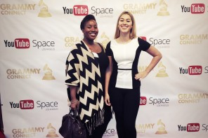 Chel & Dominique - Grammy Connect at Youtube Space LA