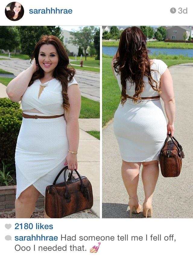Big size model instagram